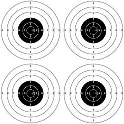 Bersagli 4 Centri 14 14 I Migliori Accessori Per Armi