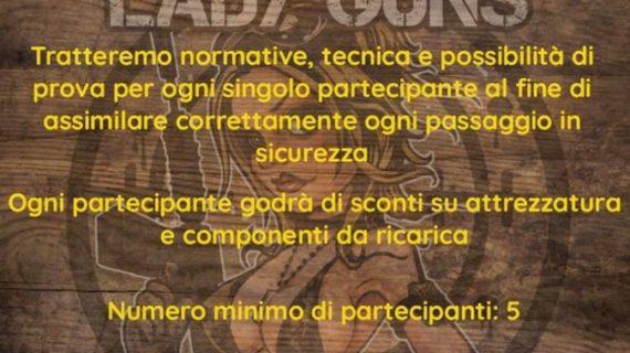 Corso di Ricarica Domestica per le Munizioni (Arma Corta)